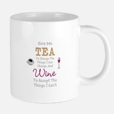 Tea and Wine 20 oz Ceramic Mega Mug