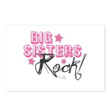 Big Sisters Rock Postcards (Package of 8)