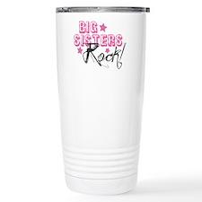 Big Sisters Rock Travel Coffee Mug
