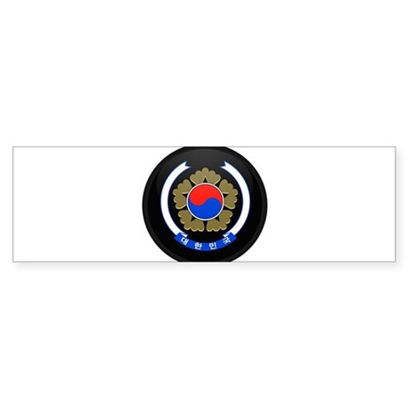 Coat of Arms of South Korea Bumper Sticker