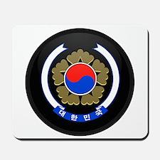 Coat of Arms of South Korea Mousepad