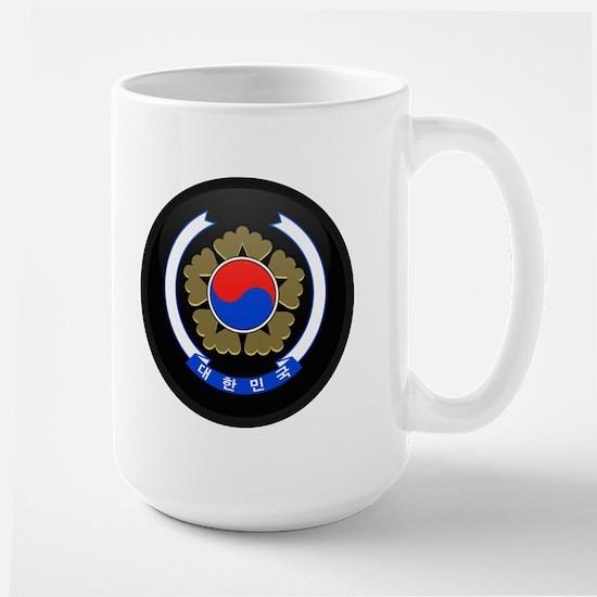 Coat of Arms of South Korea Large Mug