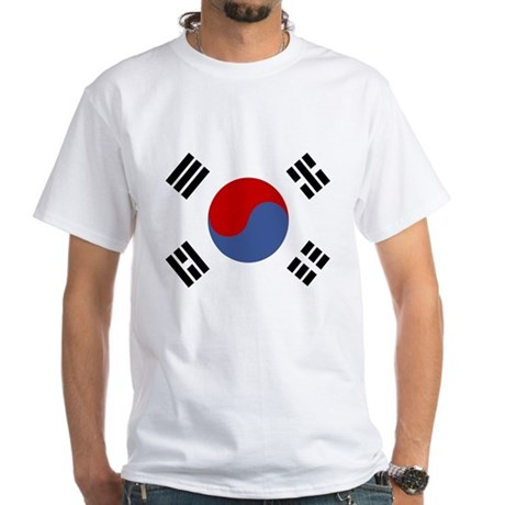 Korean White T-Shirt
