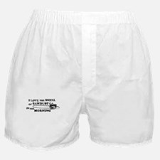 Smell of Sawdust Morning Boxer Shorts