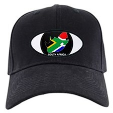 Flag Map of SOUTH AFRICA Baseball Hat