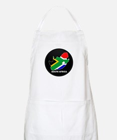 Flag Map of SOUTH AFRICA BBQ Apron