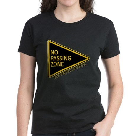 No Passing Zone Women's Dark T-Shirt