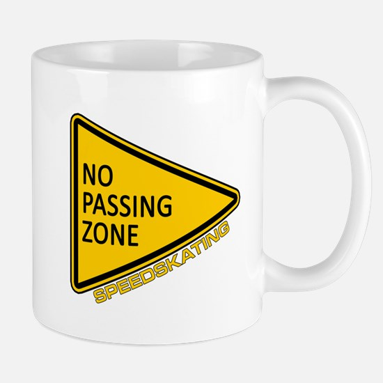No Passing Zone Mug