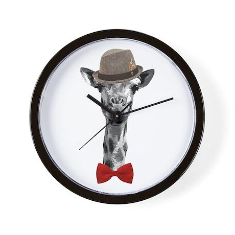 Mister Giraffe Wall Clock