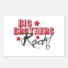 Big Brothers Rock Postcards (Package of 8)