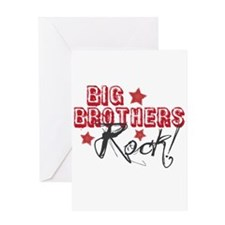 Big Brothers Rock Greeting Card