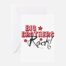 Big Brothers Rock Greeting Card