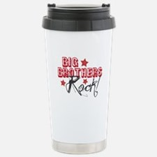 Big Brothers Rock Stainless Steel Travel Mug