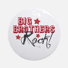 Big Brothers Rock Ornament (Round)