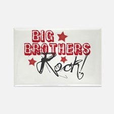 Big Brothers Rock Rectangle Magnet