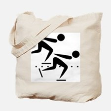 Speedskating Tote Bag