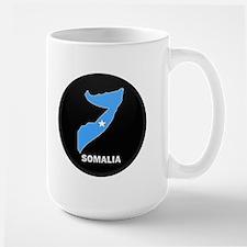 Flag Map of somalia Mug