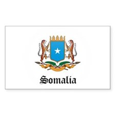 Somali Coat of Arms Seal Rectangle Decal