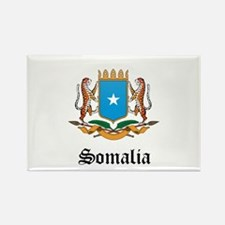 Somali Coat of Arms Seal Rectangle Magnet