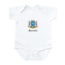 Somali Coat of Arms Seal Infant Bodysuit