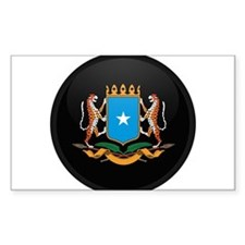 Coat of Arms of somalia Rectangle Decal