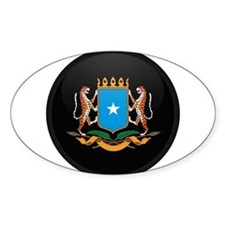 Coat of Arms of somalia Oval Decal