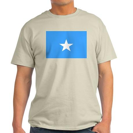 somalia Flag Light T-Shirt