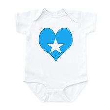 I Love somalia Infant Bodysuit