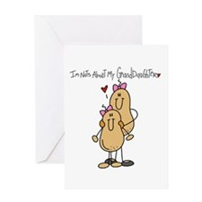 Nuts About My Granddaughter Greeting Card