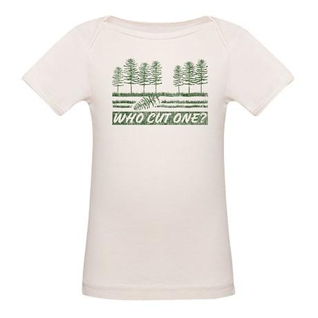 Who Cut One Organic Baby T-Shirt