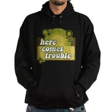 Here comes trouble (earthtone Hoodie