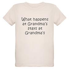 What Happens at Grandmas T-Shirt
