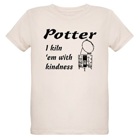 Potter. Kiln em sketch Organic Kids T-Shirt