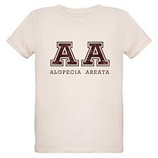 AA Alopecia Areata Maroon T-Shirt