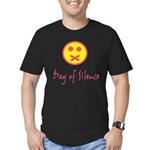 Day of Silence Men's Fitted T-Shirt (dark)