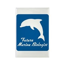 Future Marine Biologist Rectangle Magnet (10 pack)