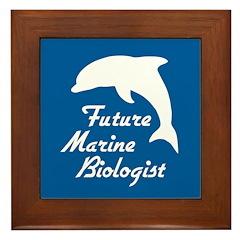 Future Marine Biologist Framed Tile