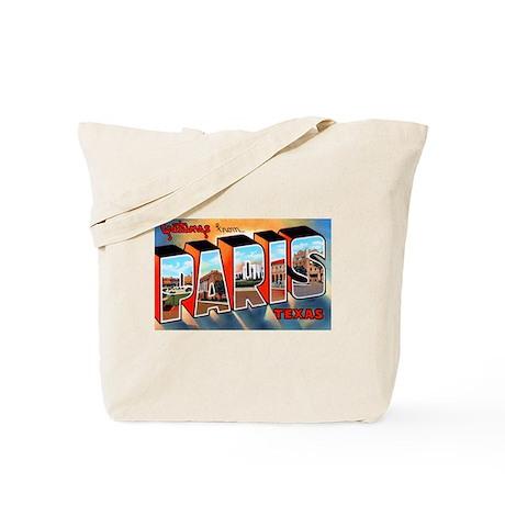 Paris Texas Greetings Tote Bag