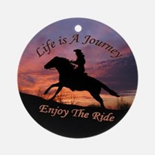 Life's Journey - Ornament (Round)