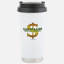 Capitalist Stainless Steel Travel Mug