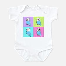 Budgie Pop Art Infant Bodysuit