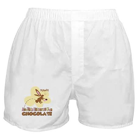 Eggscuse For Chocolate Boxer Shorts