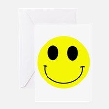 Happy Smiley Greeting Card