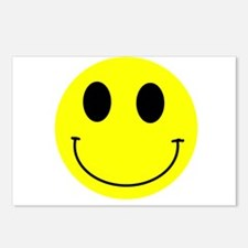 Happy Smiley Postcards (Package of 8)