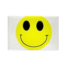 Happy Smiley Rectangle Magnet