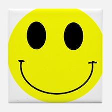 Happy Smiley Tile Coaster