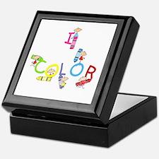 I Color Keepsake Box
