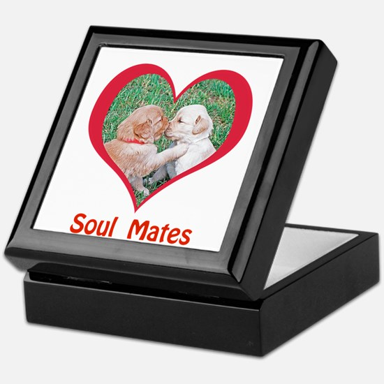Soul Mates Keepsake Box
