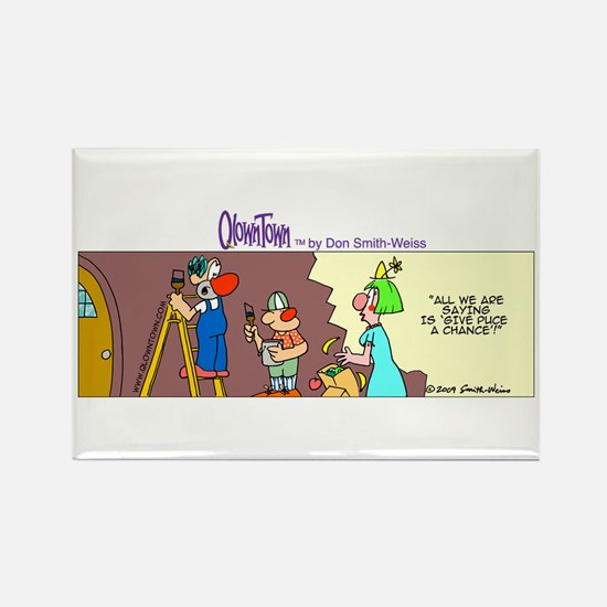 Cute Remodeling Rectangle Magnet