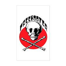 Pirates Rectangle Decal